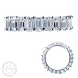 Sterling Silver .925 C.Z Eternity Ring