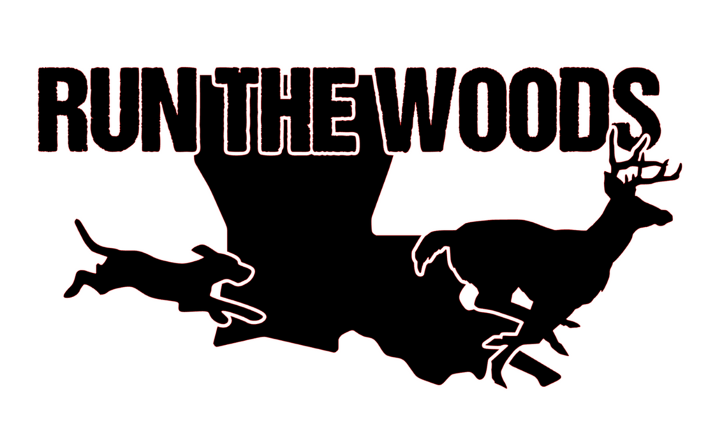Run The Woods Louisiana Decal - Daybreak Apparel Company