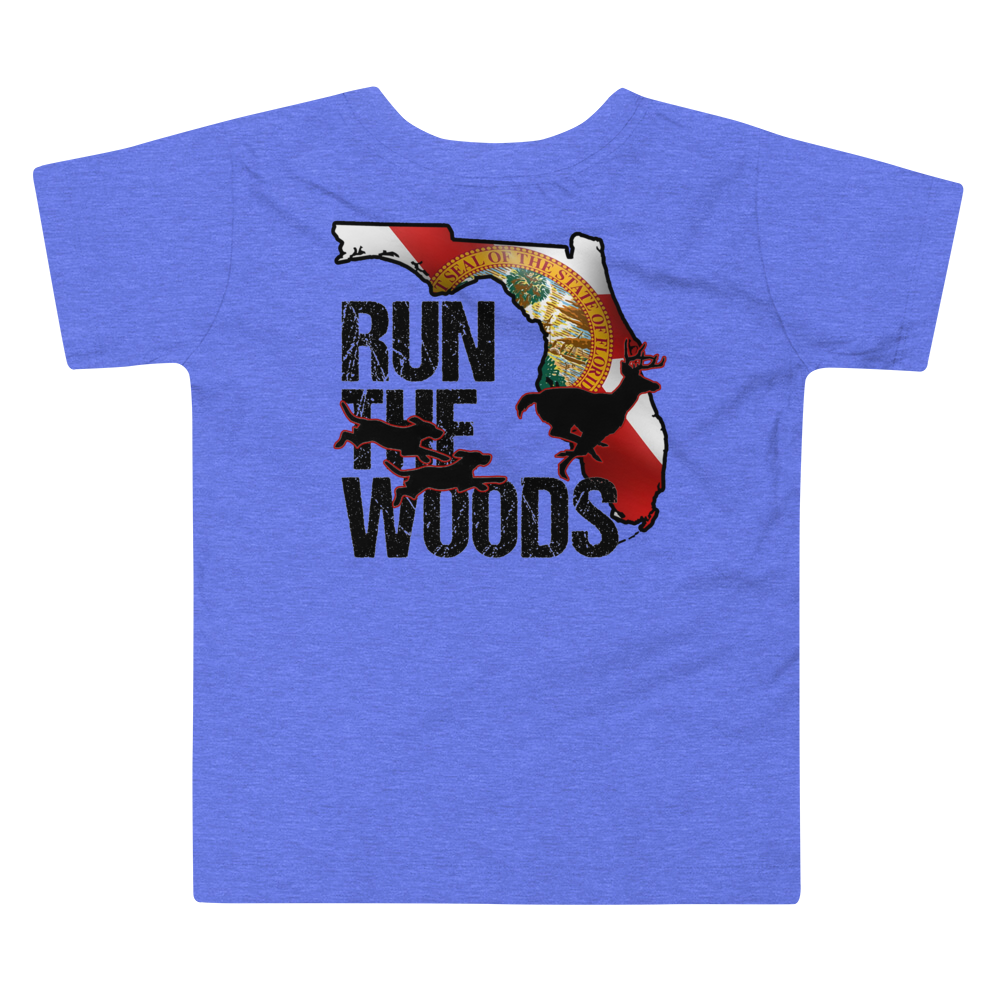 Run The Woods Toddler Tee - Georgia - Daybreak Apparel Company