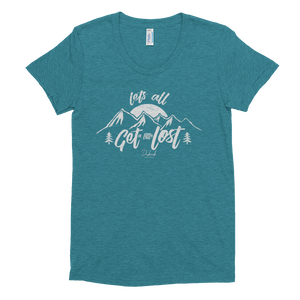 Get Lost Ladies Tee - Daybreak Apparel Company