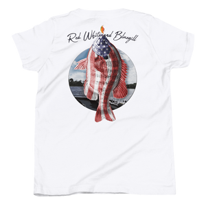 Red, White and Bluegill Youth Tee - Daybreak Apparel Company