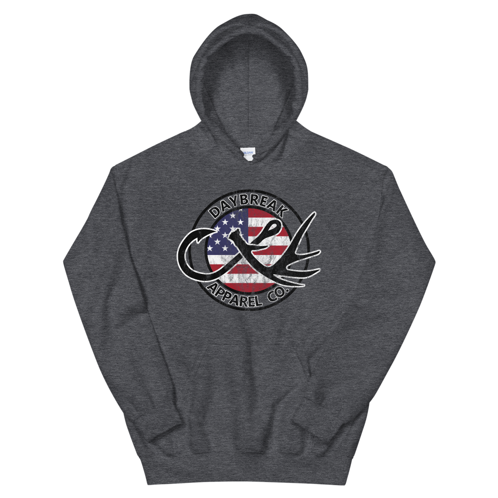 Hooks and Horns Heavyweight Hoodie - Daybreak Apparel Company