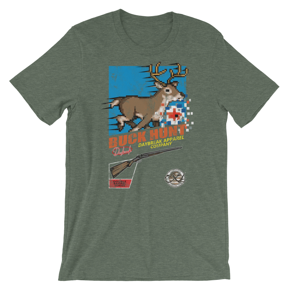 Buck Hunt retro tee - Daybreak Apparel Company