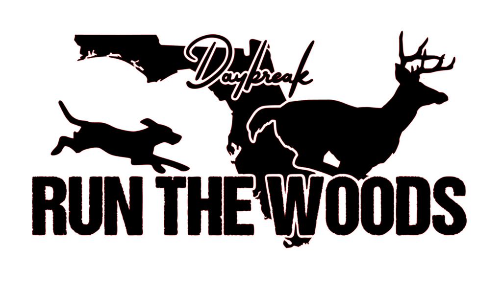 Run The Woods Florida Decal - Daybreak Apparel Company