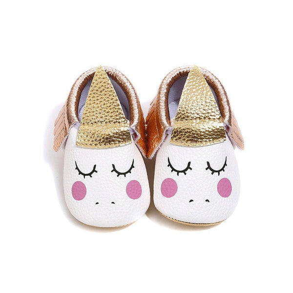 Infant Baby Girls Unicorn Shoes