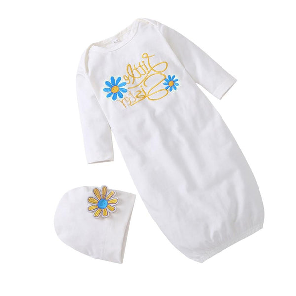 Infant Baby Cotton Soft Sleep Sack with Hat