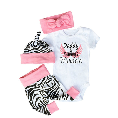 Newborn Baby Girl Take Me Home Outfit