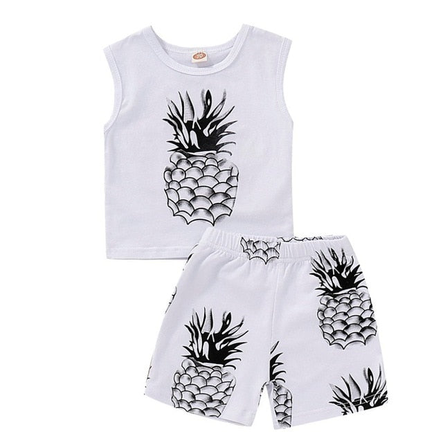 Baby Boy 2pcs Pinapple Outfit