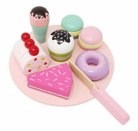 Wooden Magnetic Dessert Set