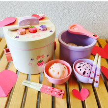 Load image into Gallery viewer, Rice Cooker Deluxe Wooden Set
