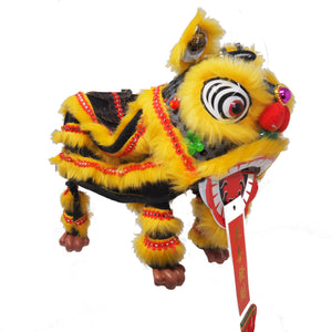 Lion Dance Marionette Puppet - Black