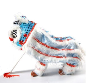 Lion Dance Marionette Puppet - Blue