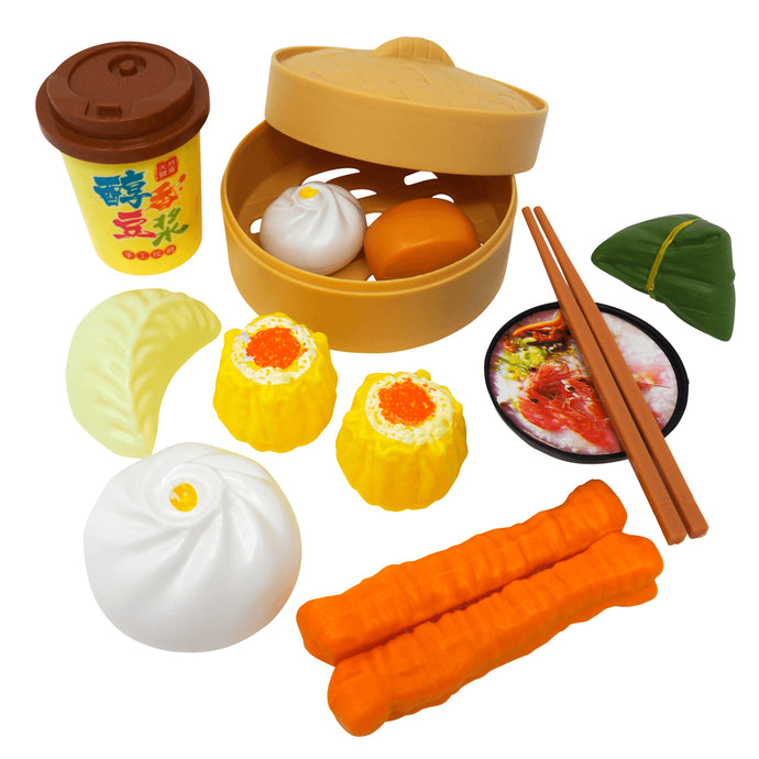 Breakfast Play Food Set: Savory Delights