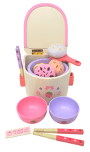 Load image into Gallery viewer, Rice Cooker Deluxe Wooden Play Food Set