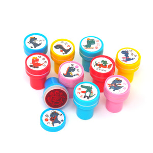 Cool Dinosaur & Reptile Chinese Stamp Set