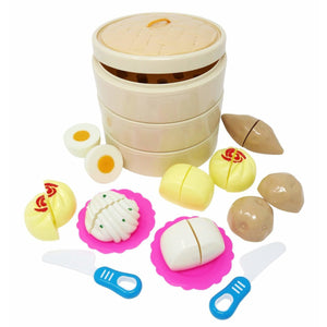 Deluxe Three Tier Dim Sum Set