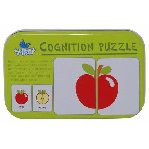 Chinese Bilingual Fruit & Vegetable Matching Card Game