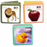 Chinese Bilingual Bath Time Baby Book Set