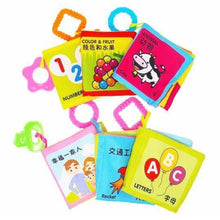 Load image into Gallery viewer, Chinese Bilingual Soft Crinkle Baby Book Set (6 Books)