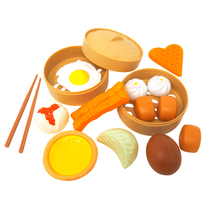 Breakfast Play Food Set: Sweet & Savory