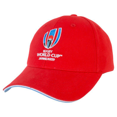 Rugby World Cup 2019 Logo Cap - Red