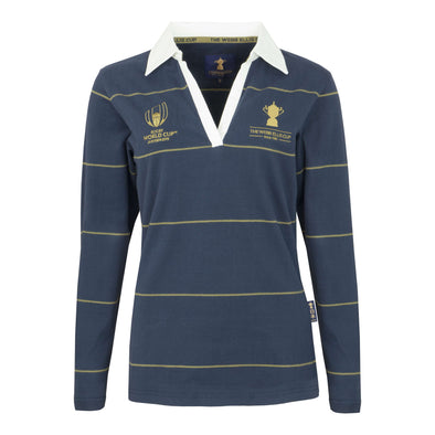 The Webb Ellis Cup Collection Ladies Long Sleeve Rugby