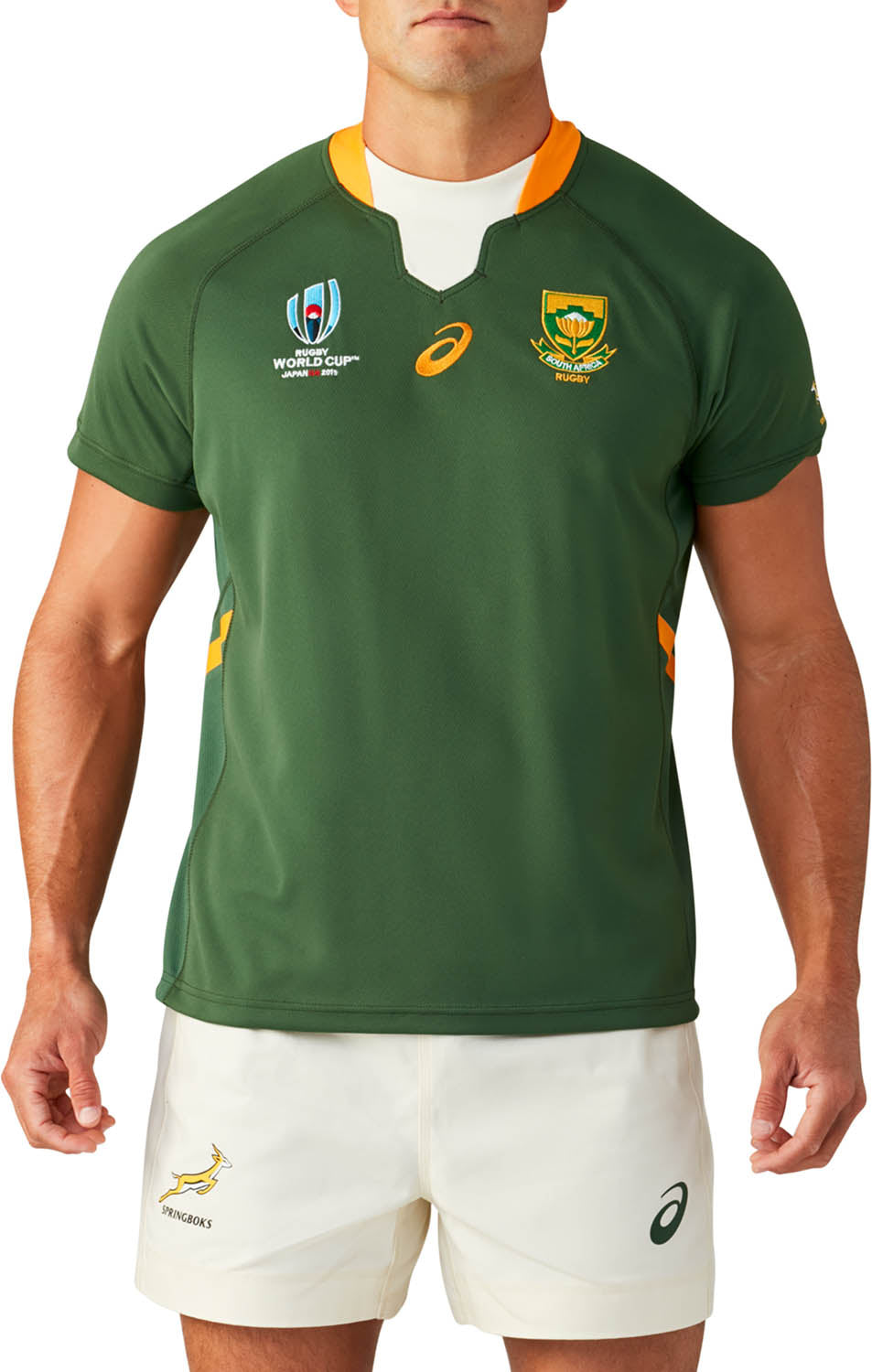 timeless design 4c7c4 2ea3b South Africa Rugby World Cup 2019 Home Pro Jersey – Official ...