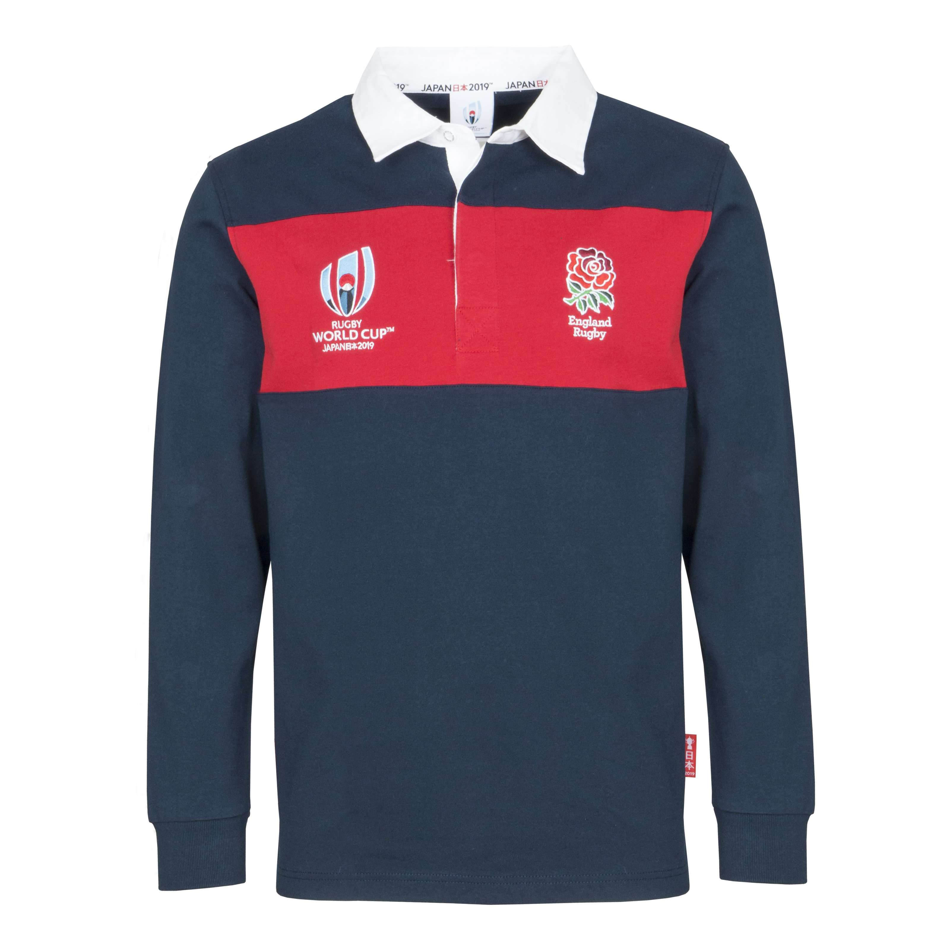 England Rugby Retro English Flag Jersey Nations Supporters Fan Blue Shirt Top