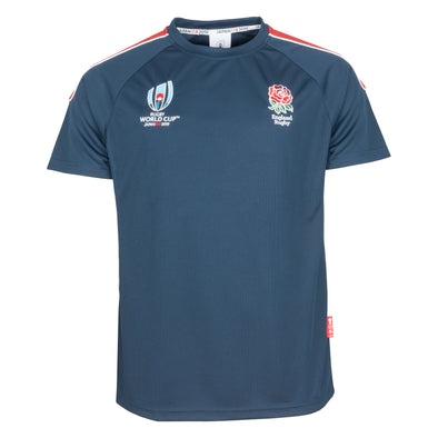RWC 2019 England Rugby Centre Tee Navy