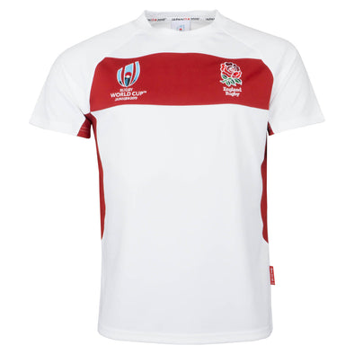 RWC 2019 England Rugby Centre Tee - White