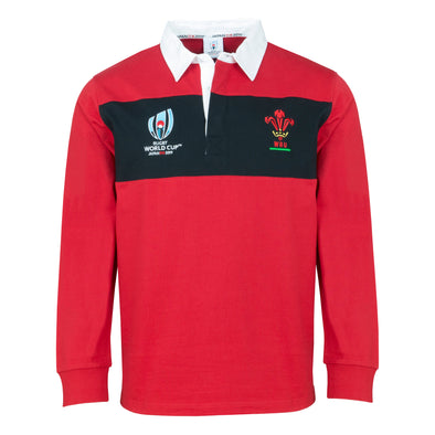RWC 2019 Wales Rugby Long Sleeve Rugby
