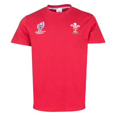 RWC2019 Wales Rugby Cotton T-Shirt