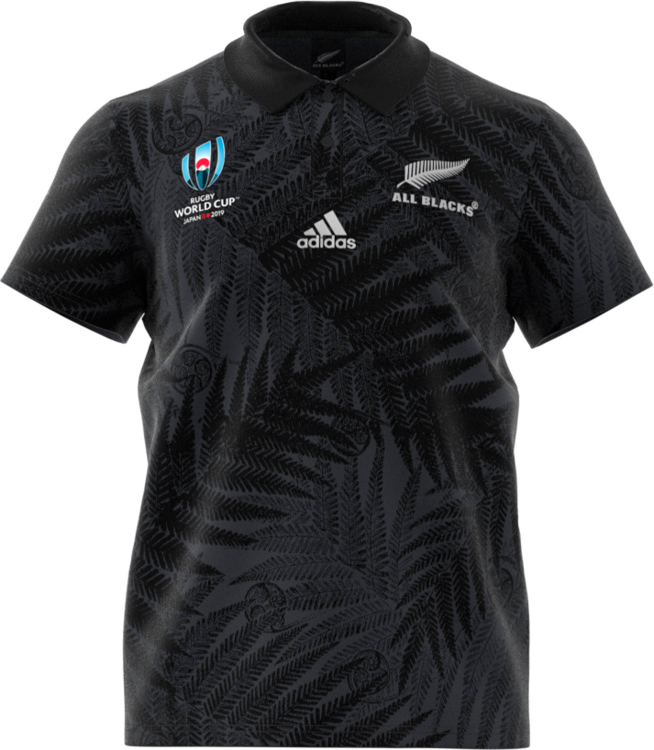 new concept bb73e f2b3a All Blacks Rugby World Cup 2019 Supporter Jersey -