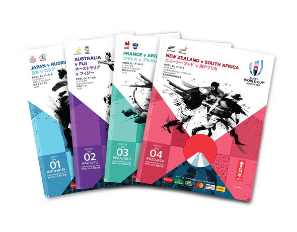 Rugby World Cup 2019 Programme Box Set