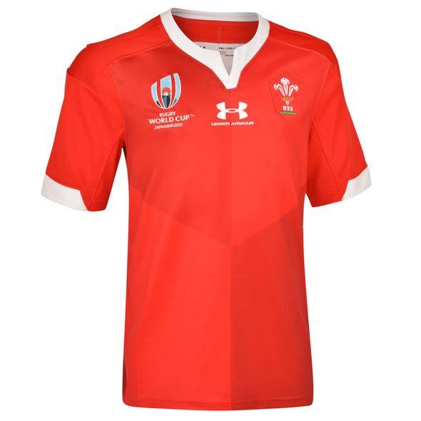 Wales Rugby RWC 2019 Youth Home Supporter Jersey