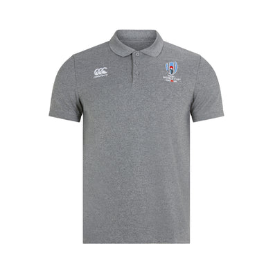 CCC Cotton Pique Polo - Grey