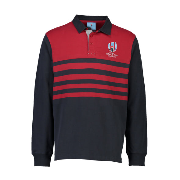 Half Back L/S Rugby - Red
