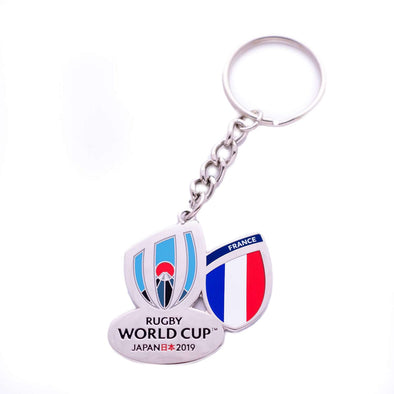 RWC 2019 France Keyring