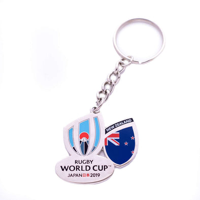 RWC 2019 New Zealand Keyring
