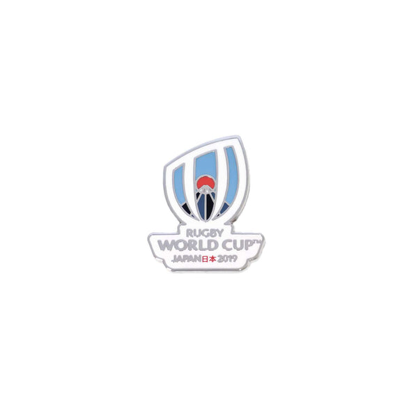 RWC 2019 Logo Pin White