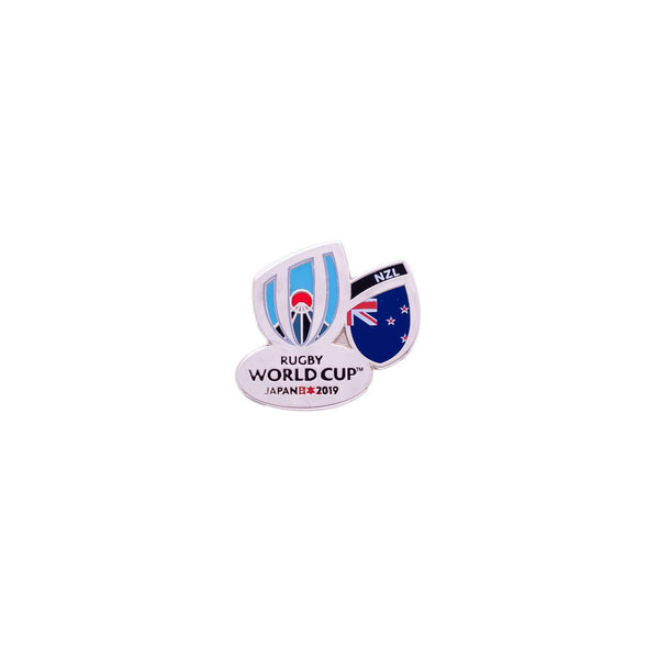RWC 2019 New Zealand Flag Pin