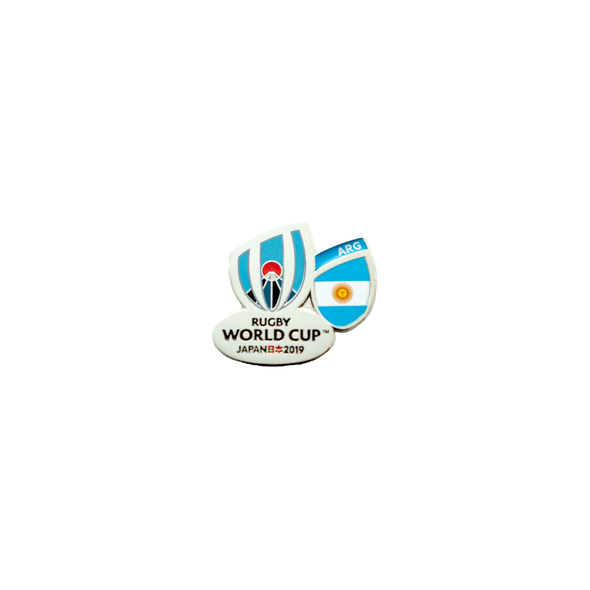RWC 2019 Flag Pin Argentina