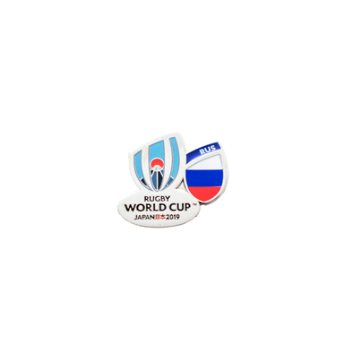 RWC 2019 Flag Pin Russia