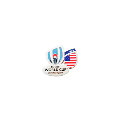 RWC 2019 Flag Pin United States