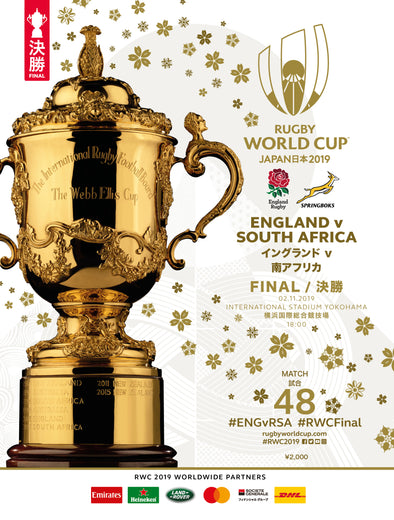 Rugby World Cup 2019 Final Programme