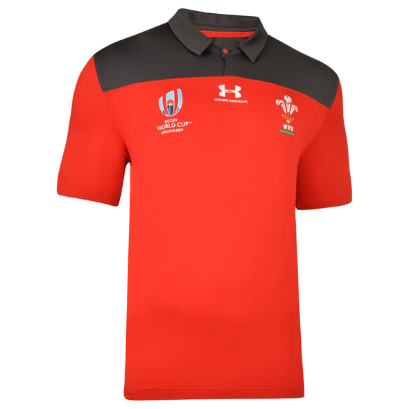 Wales Rugby Travel Polo