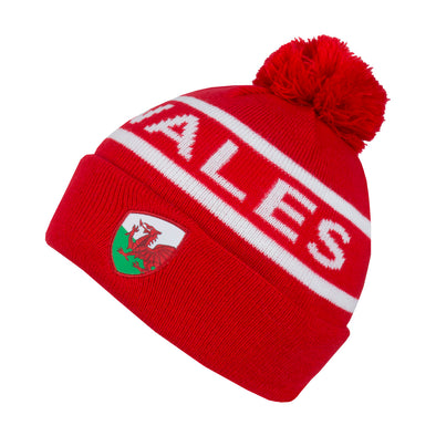 Wales Bobble Beanie
