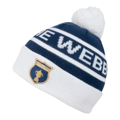 The Webb Ellis Cup Collection Champions Bobble Beanie
