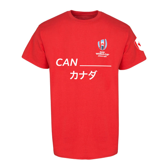 Canada Rugby Supporter Tee