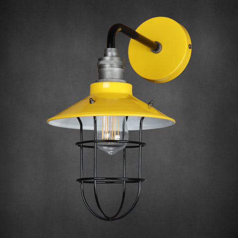 Vintage Industrial Wall Light